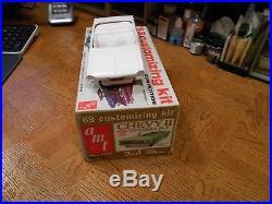 Vintage Amt Model Kit Of A 1963 Chevy II Convertible Mint/unbuilt- #05-713-149