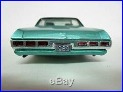 Vintage Amt Mpc 1969 Chevrolet Impala Ss 427 Built Model Car Kit. Needs Engine