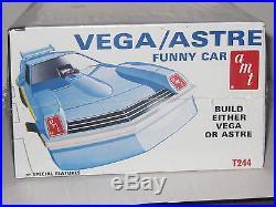Vintage Amt Pontiac Astre/chevy Vega Funny Car 1/25 Scale Kit Factory Sealed