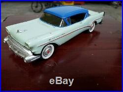 Vintage Buick 1957 Promo Dealer Car Toy 1/25 vintage AMT old model toy car lot