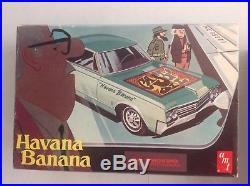 Vintage Built 1/25 Scale AMT Fidel Castro Havana Banana Oldsmobile 88 T303