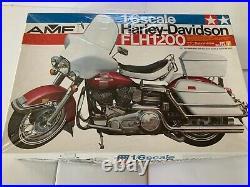 Vintage Harley Davidson FLH1200 motorcycle TAMIYA Japan 1/6 scale AMT Monogram