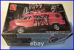 Vintage Kiss 1977 Amt Custom Chevy Van Rare Model Kit Aucoin Unassembled