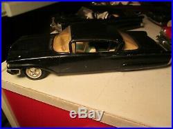 Vintage Lot of 5 AMT Model Kits Cars 1959-1963