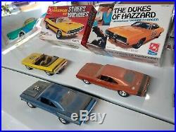 Vintage MOPAR muscle car model kits