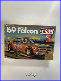 Vintage Model Car Kit factory Sealed AMT 65 Falcon Modified Stocker limited Edt