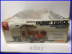 Vintage Model Kit AMT Autocar Semi Dump Truck Factory Sealed Rare Mack Pete