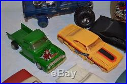 Vintage Model Kit Junk Yard Lot 1/25 Scale + others AMT Revell MPC Monogram