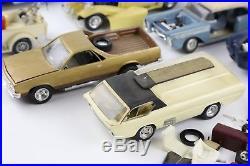 Vintage Model Kit Junkyard Car Lot Built AMT Revell Monogram El Camino Low Rider