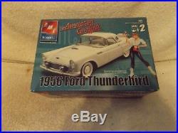 Vintage Model Kits-124 Amt/ertl 1956 Ford Thunderbird American Graffiti-new