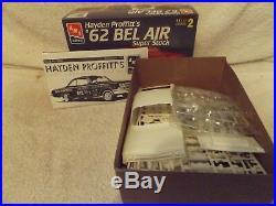 Vintage Model Kits 124 Amt/ertl Hayden Profitt's 1962 Bel Air Super Stock New