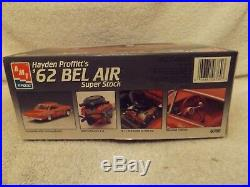 Vintage Model Kits-124 Amt/ertl Hayden Profitt's 1962 Bel Air Super Stock-new
