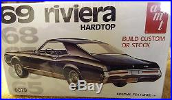 Vintage Model Kits 1969 Riveria Hardtop Amt Kit Very Nice 1/25 Scale
