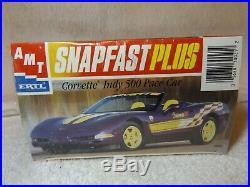 Vintage Model Kits 1998 Chevy Corvette Indy Pace Car Conv Amt/ertl 1/25-new