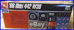 Vintage Model Kits-66' Olds 442 W-30-amt/ertl Kit-very Nice-1/25 Scale