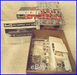 Vintage Model Kits Classic 125 Revell 1965 Chevelle Ss396 Z-16 New