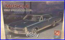 Vintage Model Kits Sealednibamt-ertl1967 Pontiac Gto Muscle 1/25 Scale