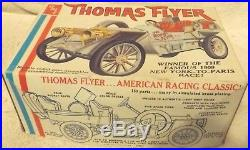 Vintage Model Kits-classic 125 Amt 1908 Thomas Flyer-very Rare Kit-new