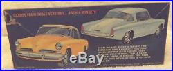 Vintage Model Kits-classic 125 Amt 1953 Studebaker''double Whammy''-new