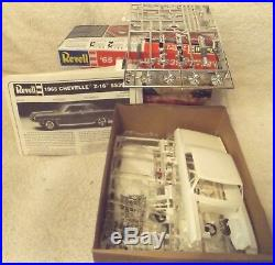 Vintage Model Kits-classic 125 Revell-1965 Chevelle Ss396 Z-16-new