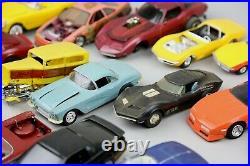 Vintage Model Plastic Cars Built Parts Junkyard Lot hot rod convertible 1/24