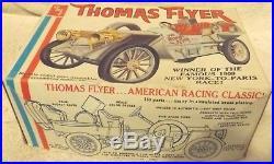 Vintage Modell Kits-classic 125 Amt 1908 Thomas Flyer-very Rare Kit-new