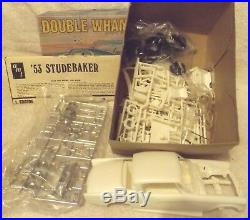 Vintage Modell Kits-classic 125 Amt 1953 Studebaker''Double Whammy'' Neu