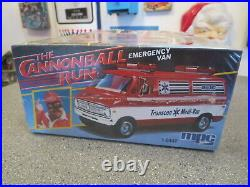 Vintage Mpc The Cannon Ball Run Dodge Emergency Van Model Kit 1/25 Scale Sealed