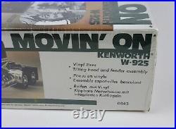 Vintage NOS AMT Ertl Factory Sealed 125 Movin' On Kenworth W-925 Model 6643