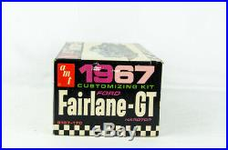 Vintage Open Box Model Car Kit AMT # 5167-170 1967 Ford Fairlane GT Desperato