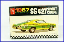 Vintage Open Box Model Car Kit AMT # 6727-200 1967 Impala SS 427 Sport Coupe