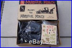 Vintage Original 1964 AMT Model Kit The Munster Koach, Kit # 901-150, Very Rare