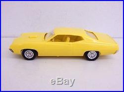 Vintage Original 1970 Ford Torino Cobra Jet AMT Dealer Promo Model Car