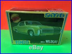 Vintage Original 1/25 Scale Amt 1969 Buick Wildcat Model Kit Factory Sealed