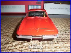 Vintage- Original AMT 1965 Red Corvette Stingray Promo Near Mint / No Box