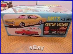 Vintage Original Amt 1/25 1965 Oldsmobile 88 Hardtop Unbuilt Model Kit # T303