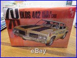 Vintage Original Amt 1/25 1970 Oldsmobile 442 Funny Car Sealed Model Kit # Y736