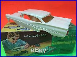 Vintage Original Issue 1958 Ford Fairelane Ht Amt 1/25 Scale Unbuilt Kit