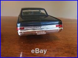 Vintage Promo 1965 Pontiac Gto Hardtop Night Watch Dark Blue Amt Johan Mpc Toy
