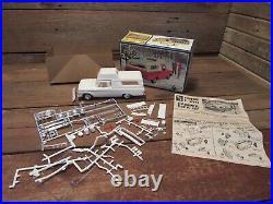 Vintage RARE AMT FORD F-100 CAMPER PICK-UP 1 in 3 Model Kit