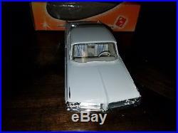Vintage Rare AMT Promo Dealer Friction Car Pontiac 2 Door Sedan White