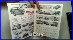 Vintage Rare Dealer/hobby Store Amt Model Car Kits 1970
