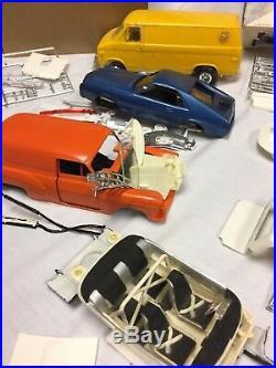 Vintage Revell AMT Plastic Model Cars / Parts 1/25 Scale RARE STUFF