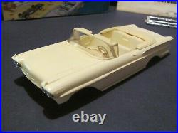 Vintage SMP/AMT 1958 Chevrolet Impala Conv. Mostly Complete, Disassembled