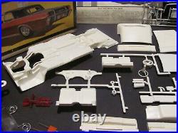 Vintage Unbuilt AMT 1966 Lincoln Continental 1/25 Scale Model Kit, Mint Cond
