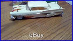 Vintage estate AMT 1958 Ford Hardtop 3 in 1 Customizing model Car