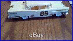 Vintage estate amt 1958 Ford hardtop Car Model w box 3-1