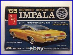 Vintage original AMT 1965 CHEVY IMPALA SS CONVERTIBLE (GENE WINFIELD)