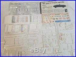 Vtg AMT 1964 CORVETTE Sting Ray Convertible Customizing 3 in 1 Kit Model Car