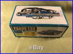 Vtg AMT super boss funny car falcon 1/25 scale model car kit drag 427 auto race